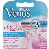 Gillette Cartucho Venus Sensitive 2 Unidades