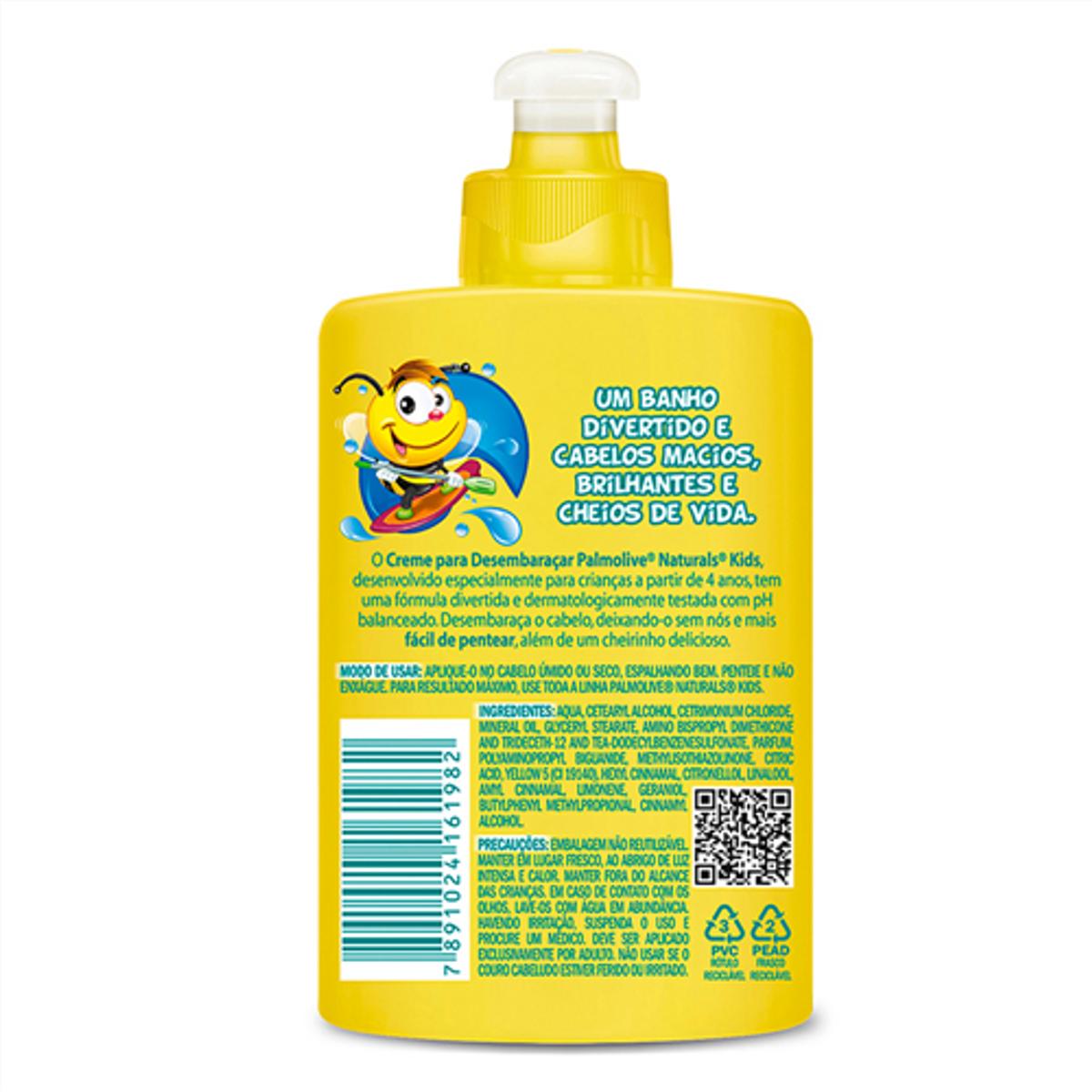 773b7cf7b Creme de Pentear Infantil PALMOLIVE Naturals Kids Todo Tipo de ...