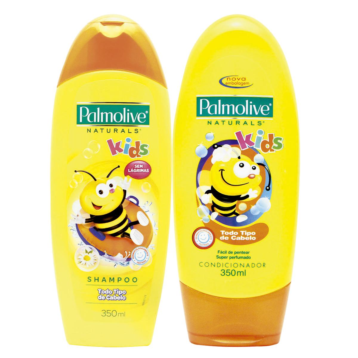 8f3bfabae Kit de Shampoo + Condicionador PALMOLIVE Naturals Kids 350ml Cada